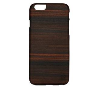 el iphone 6 real de la madera de la caja del teléfono(el Hombre y la Madera de Ébano/BL)