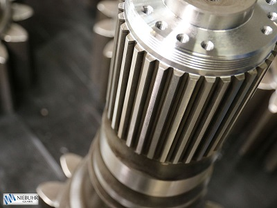 Individual and series production of cylindrical gears for all purposes are one of Niebuhr Gears' specialties. We manufac