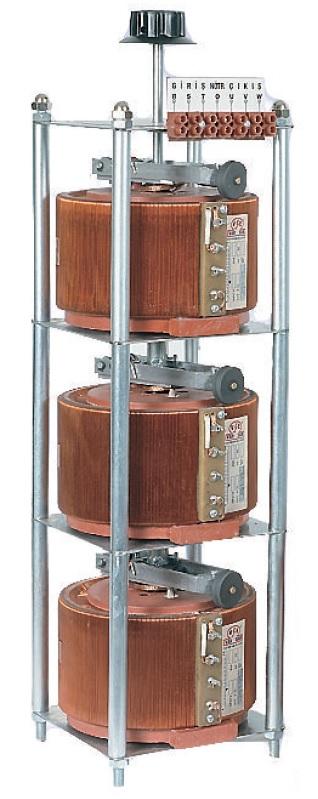 3x1 - 3x5 KVA Variable Transformer (VARIAC)
