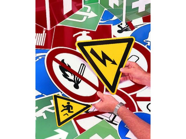 CEPELEC propose une large gamme d'étiquettes pour répondre efficacement à vos besoins en Identification de sécurité : ma