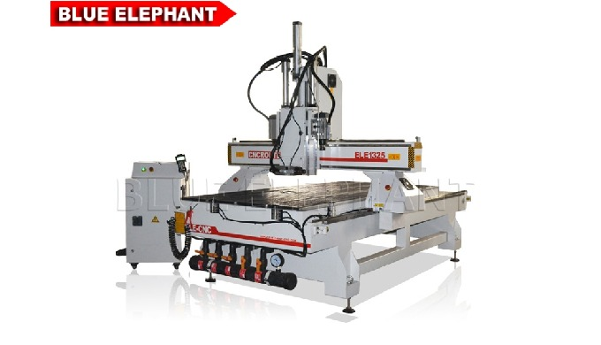 ELECNC-1325-2 Wood CNC Router with Double Heads