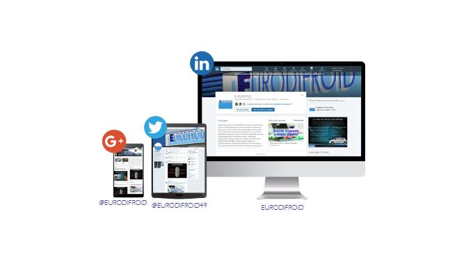 Eurodifroid est sur les réseaux sociaux !