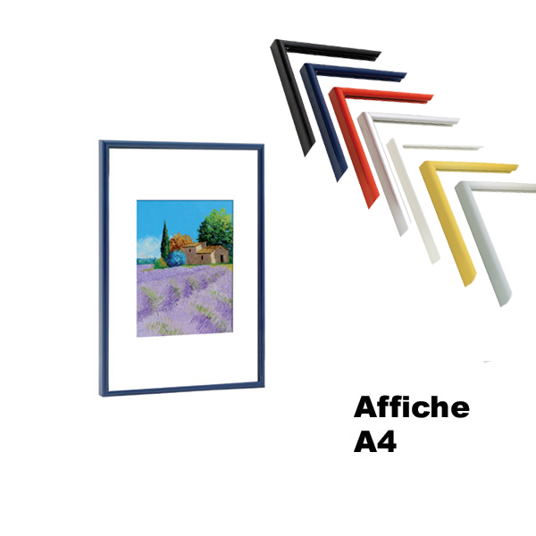 CADRES DÉCO COULEURS POUR AFFICHES A4 (21 X 29,7 CM)