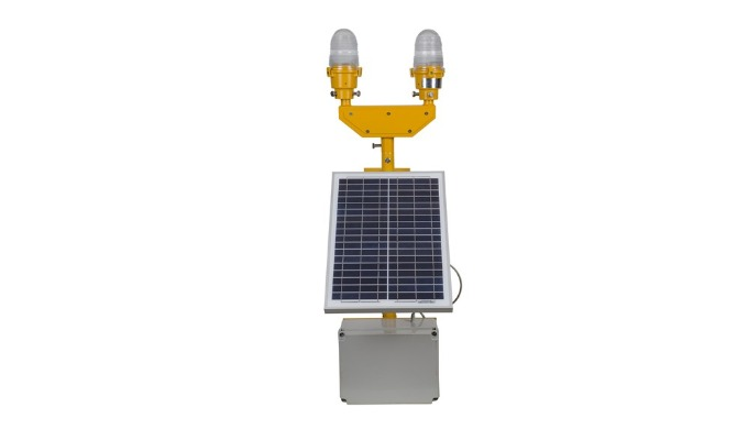 WARNING LIGHT WITH SOLAR PANNEL
