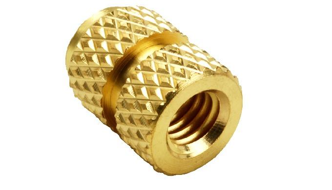 Brass Knurl Molding Inserts