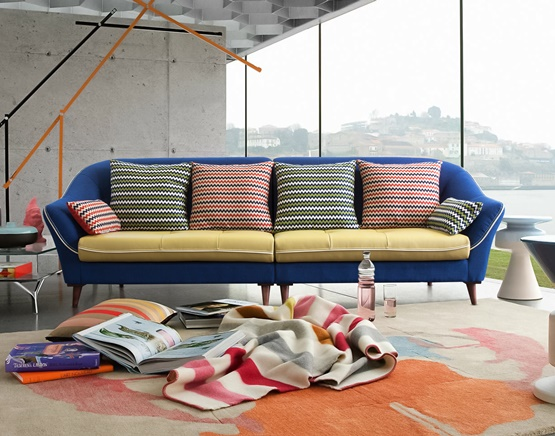 Jenny Sofa _BlUE [Secret Design Sofa]