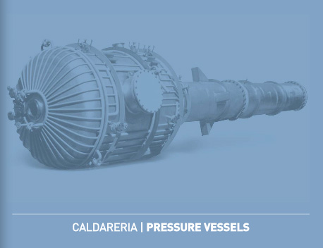 PRESSURE VESSELS - reactors, tanks, columns and flare tips. Diameters up to 4000 mm and thicknesses up to 30 mm. WELDED