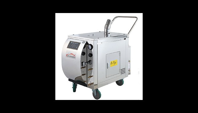 CL1700 is a mobile steam car wash machine proud of strong output power. It cleans dusts and oil stain deposited on a car