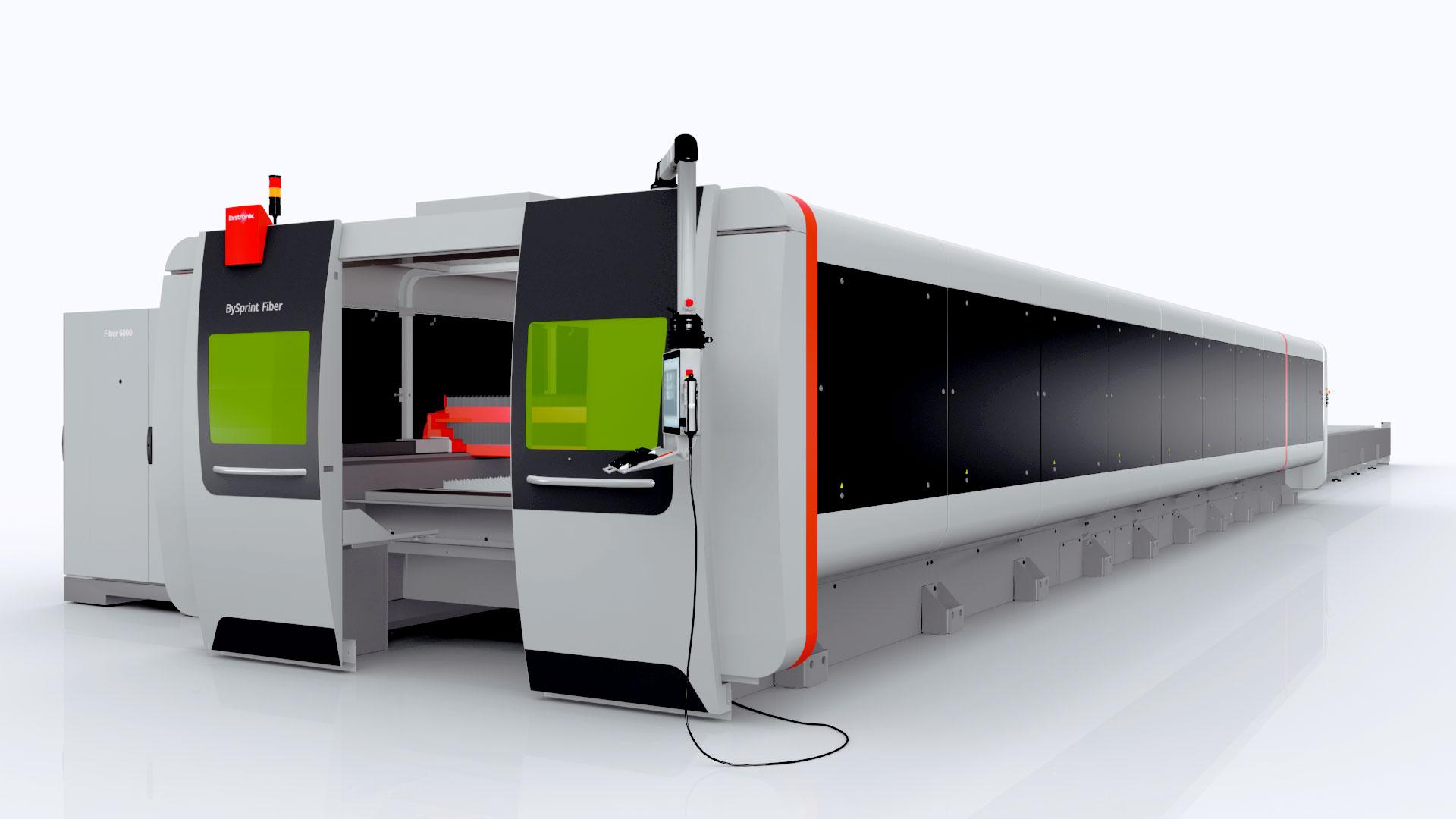 BySprint Fiber: Nouveau en format de 12 mètres