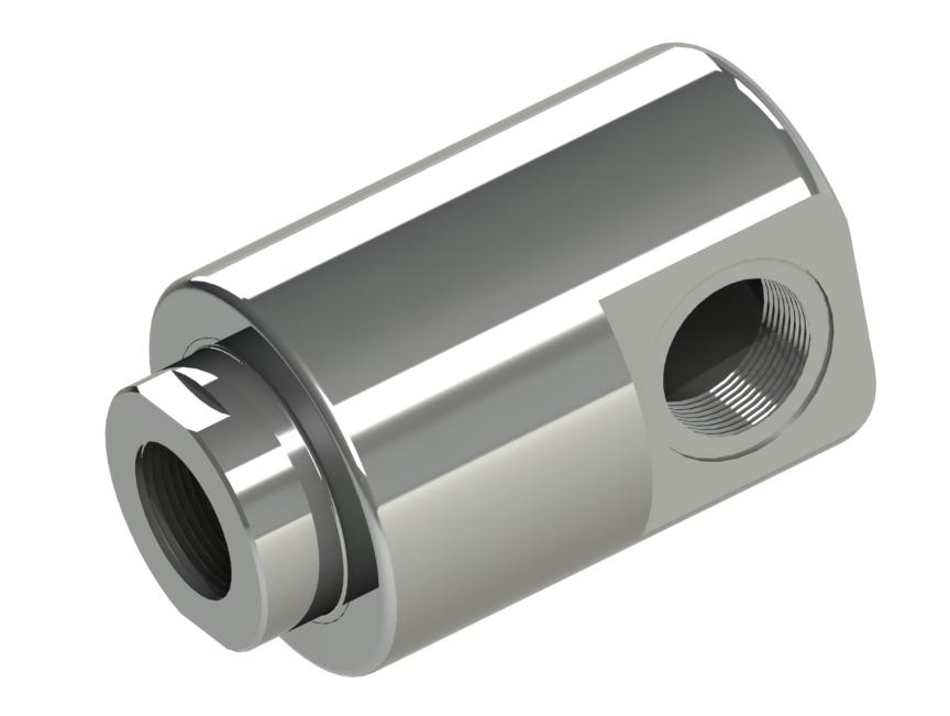 """Schwere Ausführung mit Gewindeausflüsse, Nennweiten G1/4"""" - G2"""" Produkteigenschaften: Stahl (42CrMo4) oder Edelstahl (1."""