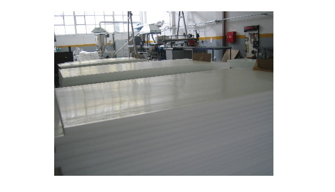 POM (Polyoxymethylene/Poly Acetal) Sheets Thickness Range 15-100mm. Width: 1000mm. Lenght: 2000mm (Standard). Length can