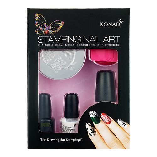 T Set Konad Stamping Nail Art By Konad Co Ltd