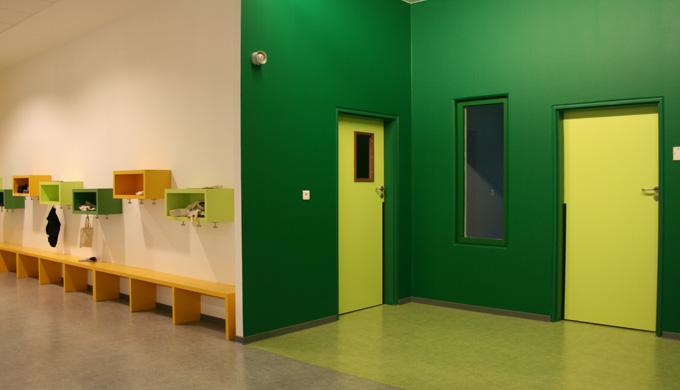 Portes EI30 maternelle 1 vantail et 2 vantaux : Portes et blocs-portes avec huisseries bois ou métalliques destinés spéc
