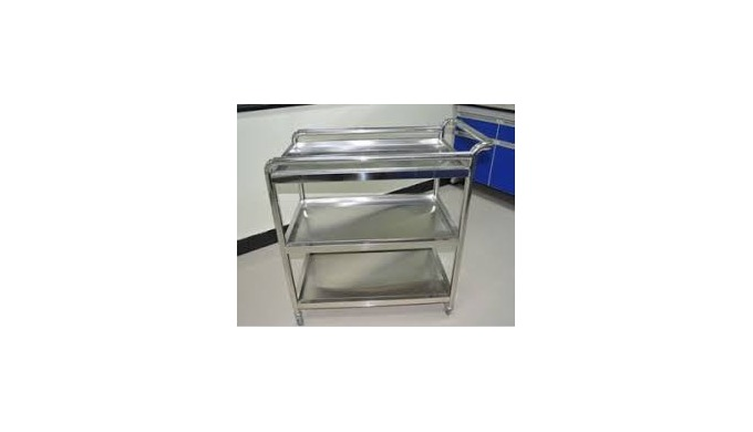 Trolley can be fabricated as per client requirement for office, hospital, cleanroom and general application.