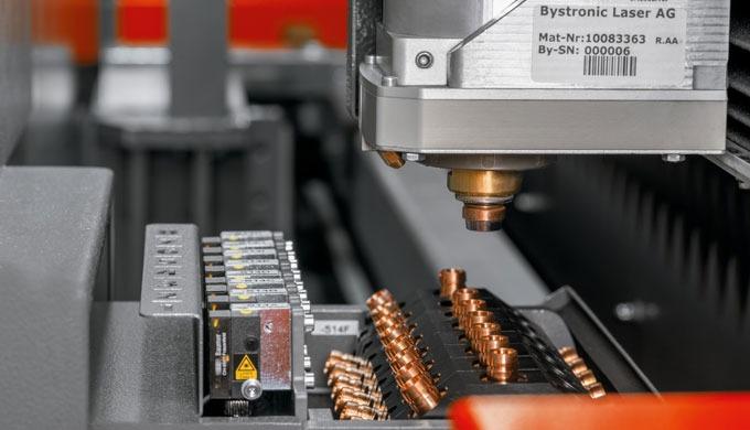 Sistema de corte con láser de fibra ByStar Fiber