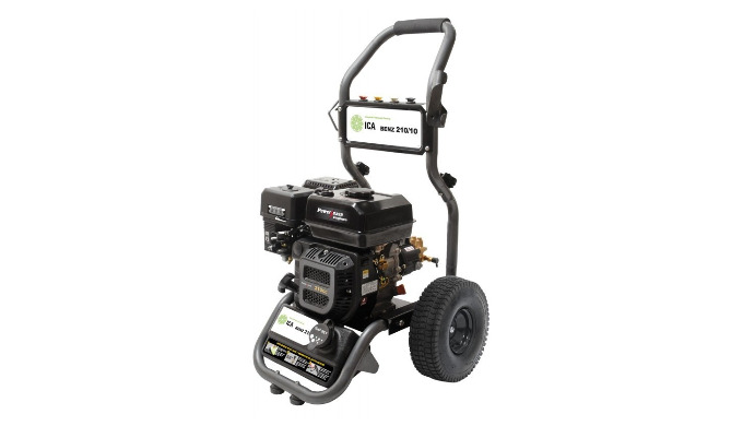 Solide châssis métal & grandes roues pour passage obstacles Moteur Power Ease 317 / 7 CV Sécurité niveau d'huile moteur