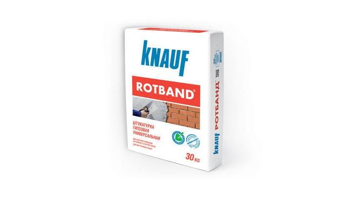 Tencuiala pentru interior KNAUF Rotband. Универсальная сухая штукатурная смесь на основе гипса с полимерными добавками,