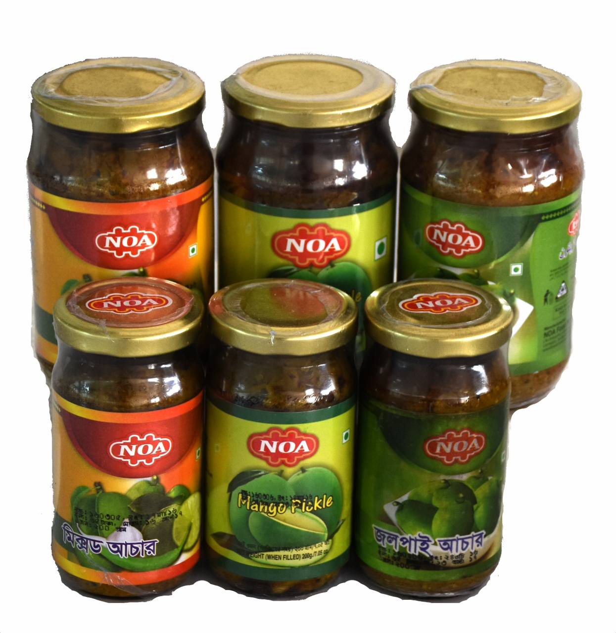 Pickle : Mango, Olive, Mixed