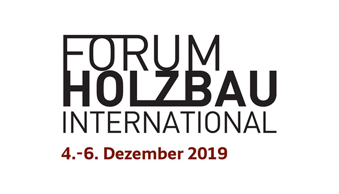Forum Holzbau International 2019