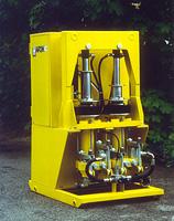 Injekční čerpadlo HP10/80 Injekční čerpadloHP10/80 je určeno pro injekční práce, případně pro dopravu cementových, bent