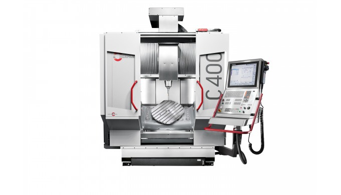 The C 400 is a dynamic machining centre offering perfect entry into 5-axis/5-side machining.   The C 400 machining centr