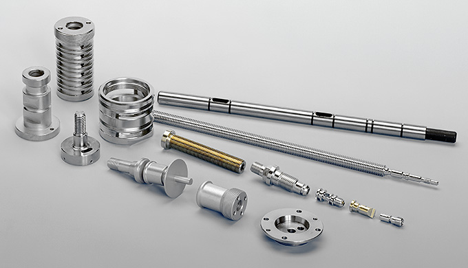We manufacture all components in accordance with your drawings using all the common materials in diameters from 4–65mm,