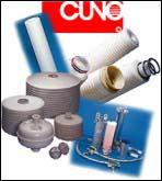 Filtros de cartuchos y cartuchos filtrantes CUNO http://www.peiro.com/index_productos.html