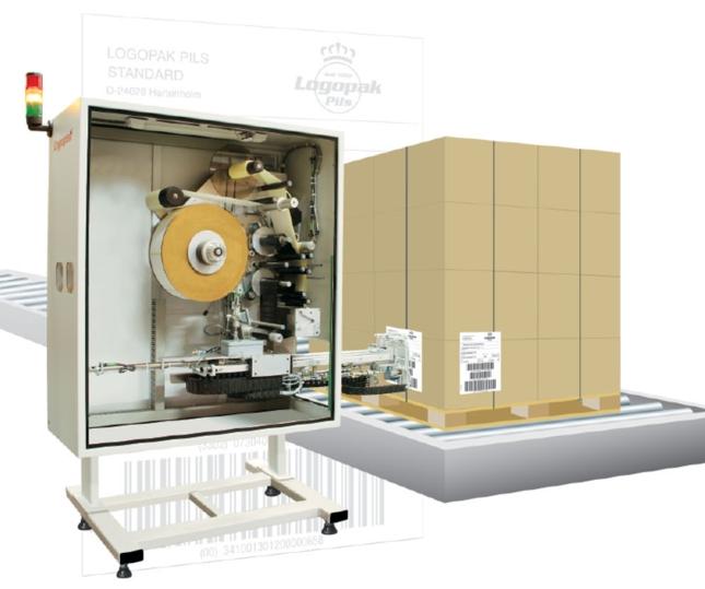 Étiqueteuse automatique palettes Logomatic 920