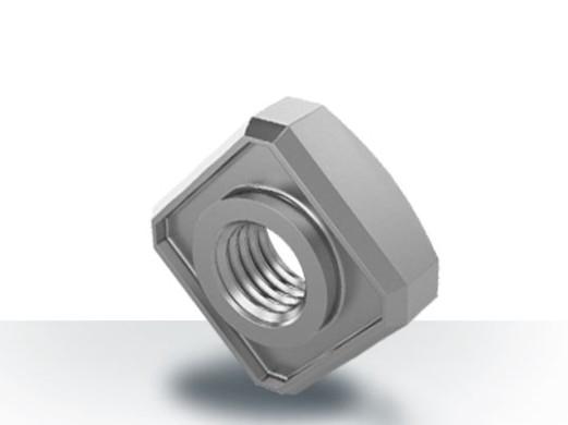 Mit den Einstanzmuttern der Marken PIAS® (eckige Form) und RIVTEX® (runde Form) kann eine unverlierbare Blechverbindung