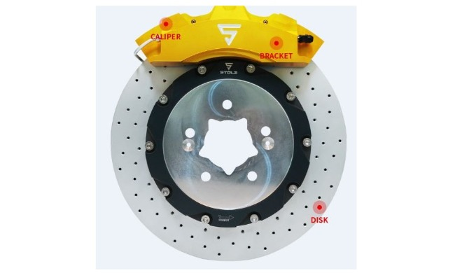 STOLZ BIG BRAKE FEX 4P BRAKE / 6P CALIPER BRAKE  KIT ㅣ Custom brake discs