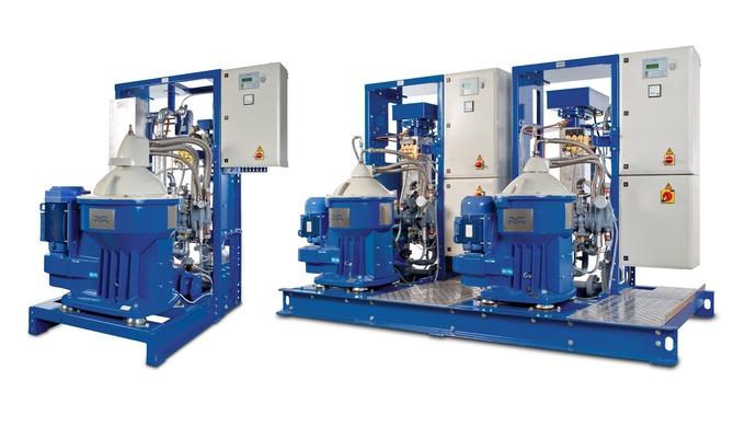 La gamme de systèmes de séparateurs S et P Flex pour fioul et huile de lubrification combine les atouts uniques des sépa