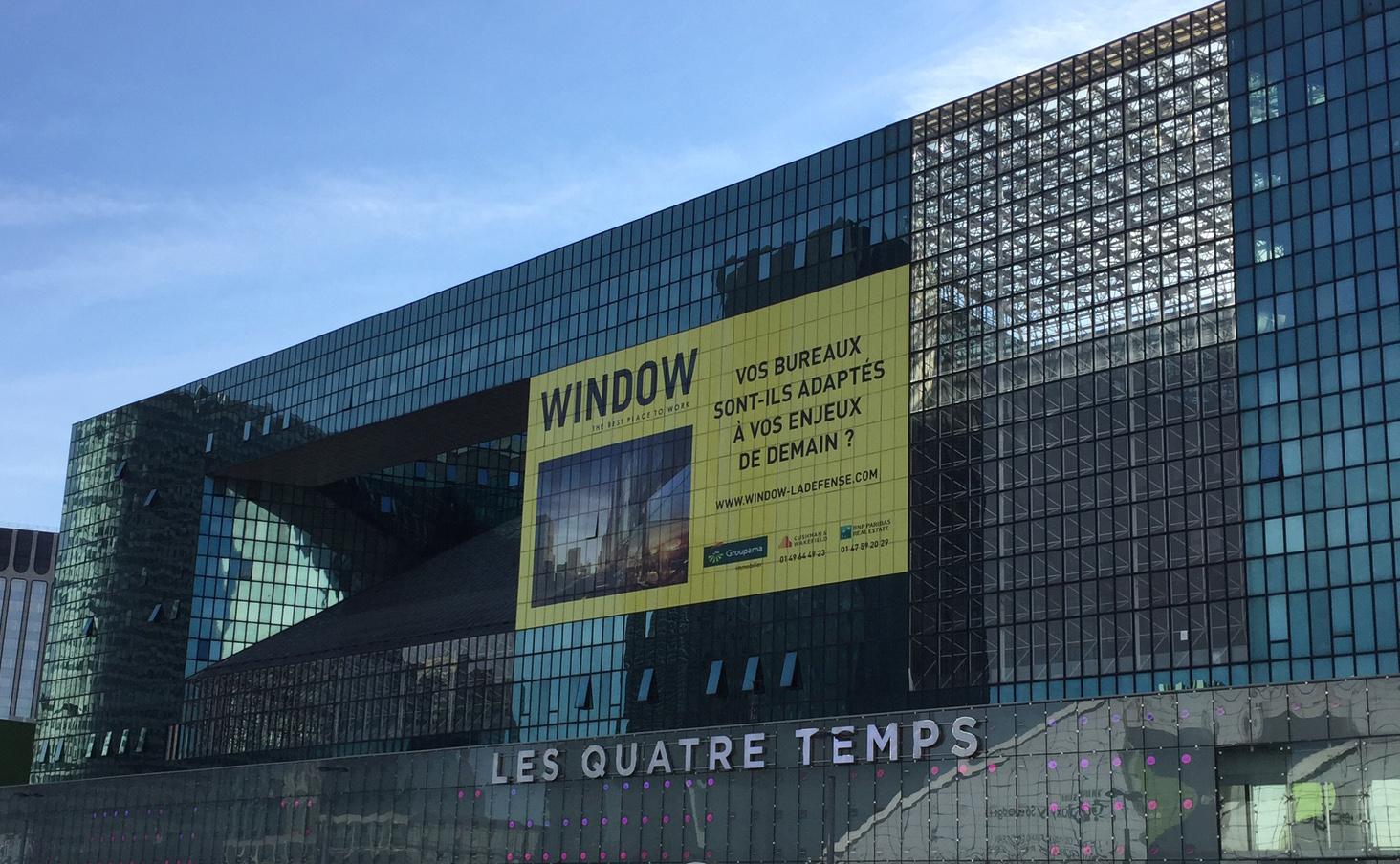 Elysée Défense devient Window