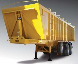 Véhicules conçus pour le transport de céréales et produits granuleux, charge uniformément répartie à une vitesse de 80 k