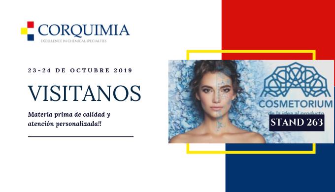 Presentes en el Cosmetorium 2019