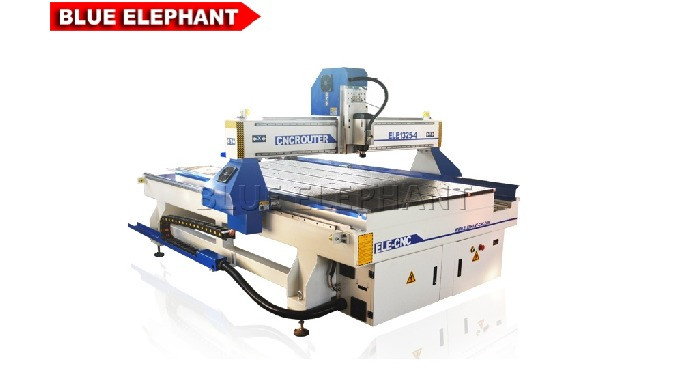 Features: 1. Distinct with 1325 Wood Engraving CNC Router, the machine was designed with rotary device. 2. Like 4*8 CNC