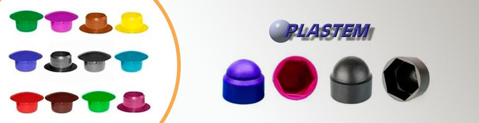Bouchons plastiques et caps plastiques de toutes les couleurs