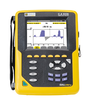 Chauvin Arnoux's C.A 8331, C.A 8333 and C.A 8336 are three-phase power and network analysers designed to offer simple ac