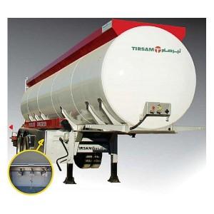 Véhicules conçus pour le transport de produits hydrocarbures. Pression de service maxi 0,3 bar. Citerne récipient mesure