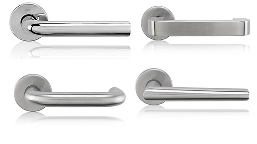 Stainless Steel Door Handles For Interior Doors By Material