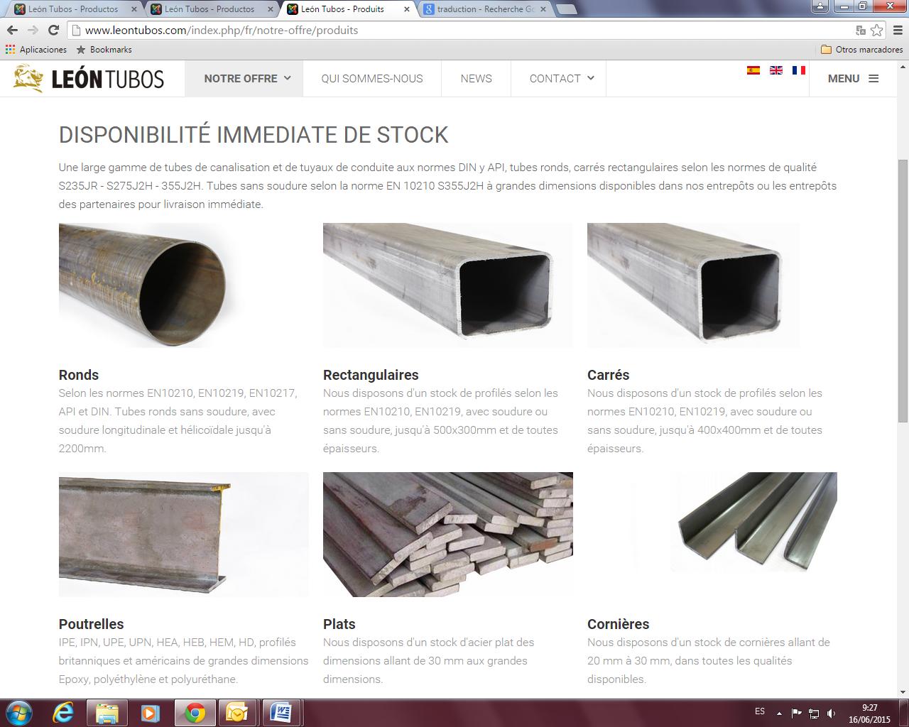 Nueva Página Web - León Tubos