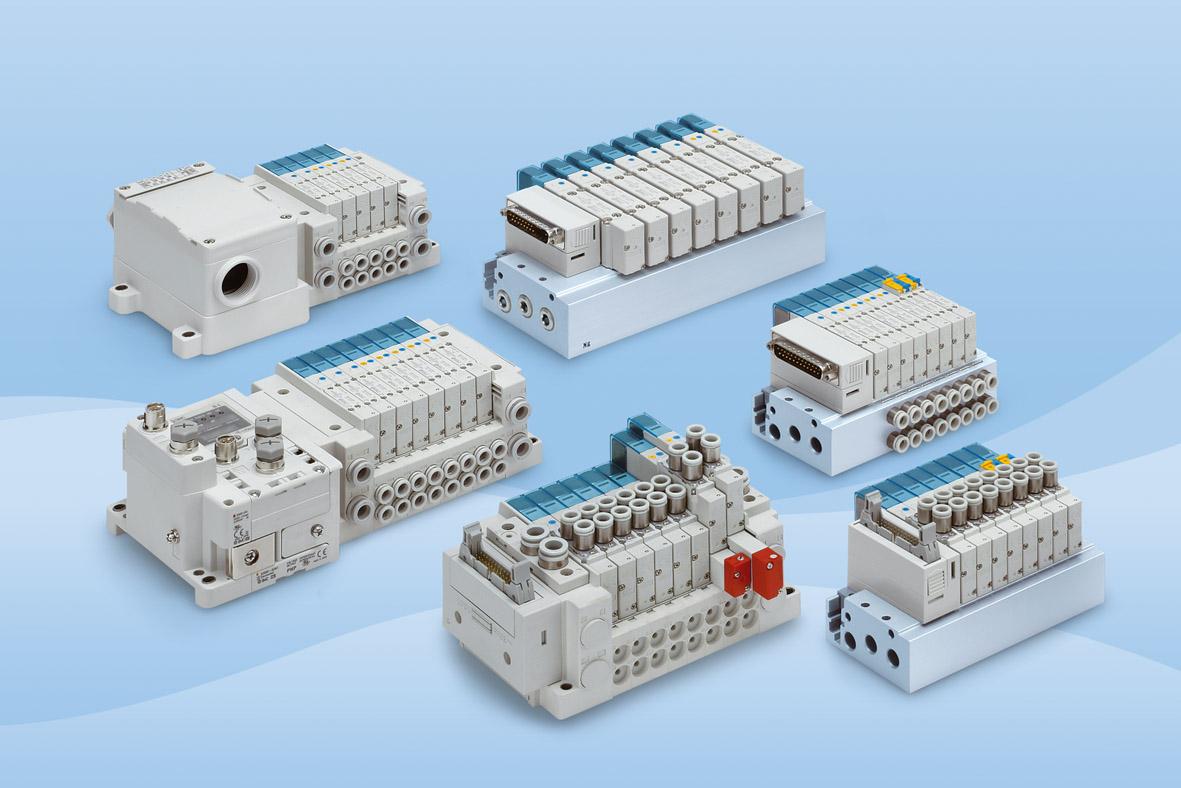 SY3000-5000, Electrodistributeur 5 voies
