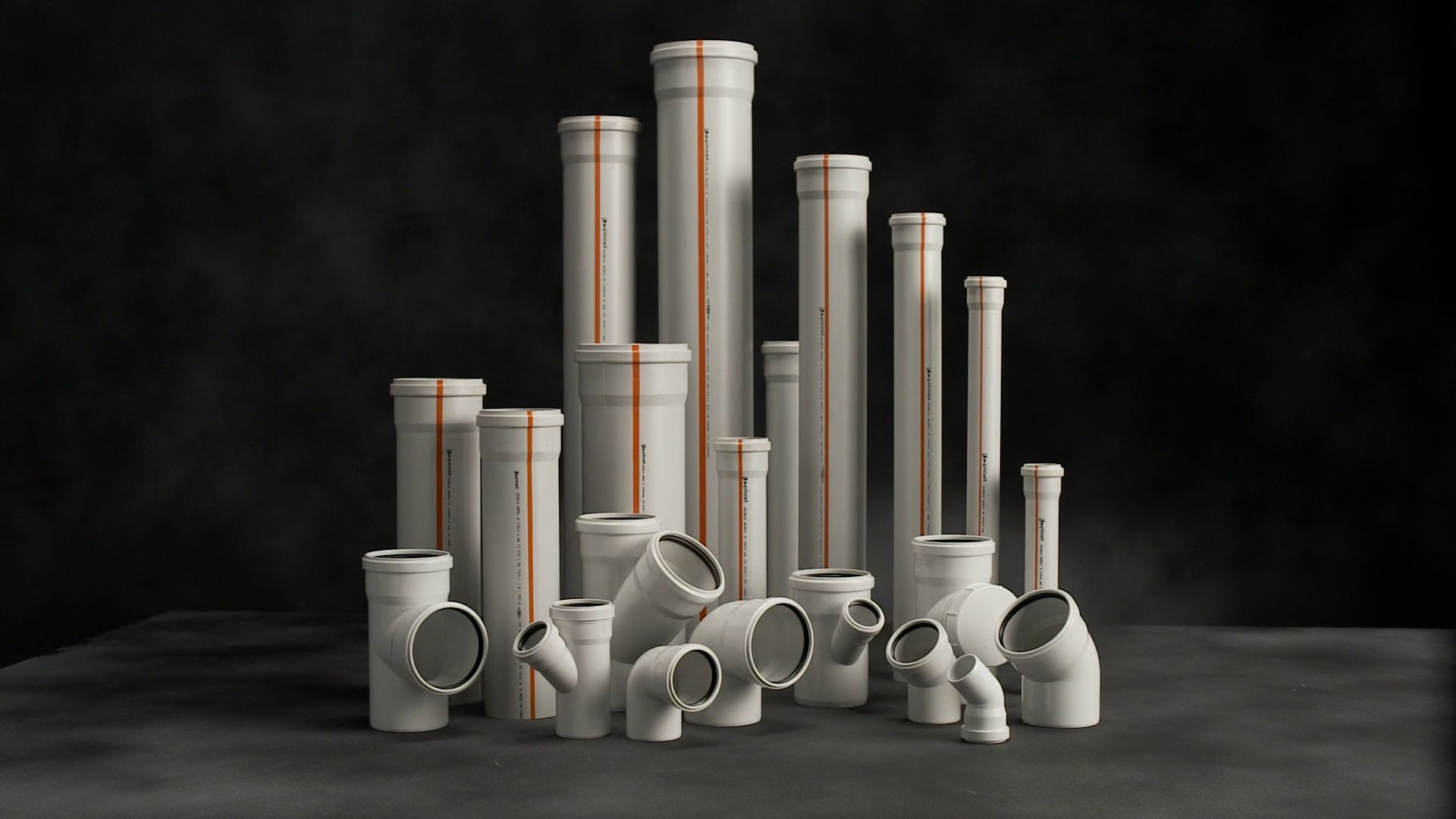 UPVC waste water pipe and fittings