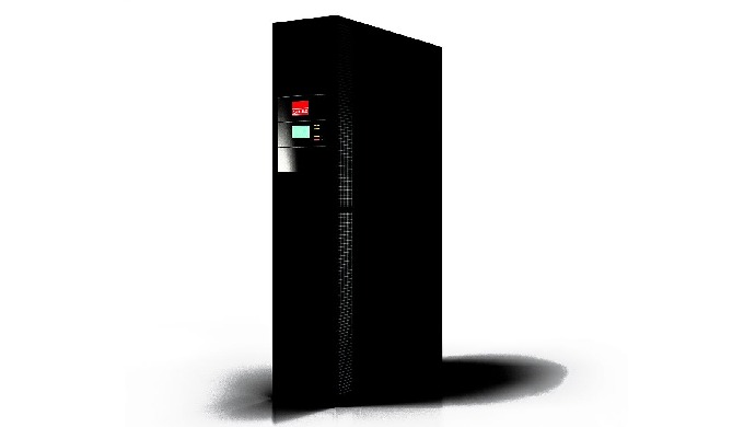 CyberRow is an A/C unit for the targeted cooling of high-density racks. In CyberRow, innovative horizontal air conductio