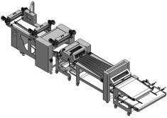 La Plaff Plaff H2O es un equipo automático de producción para panadería de última generación. Una máquina modular de fác
