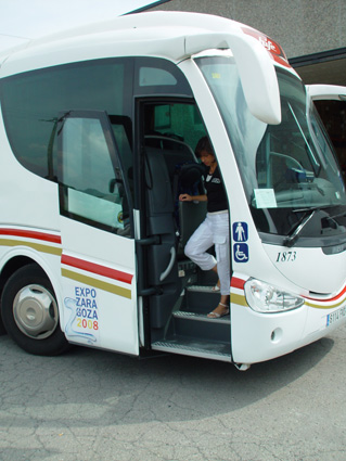 Pneumatic and electric doors for coaches