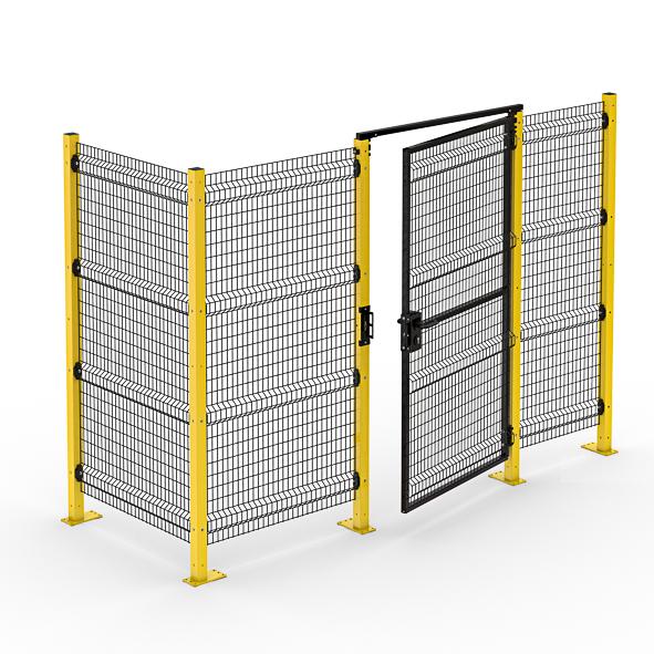 Nouvelle gamme de protection pour machines-outils, robots et lignes de production