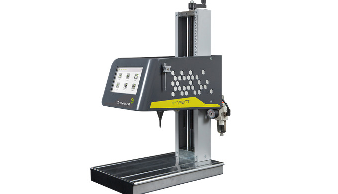 Technifor - Máquina de sobremesa para marcaje por micropercusión IMPACT