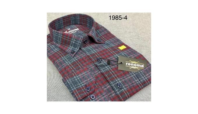 Flanel shirts hommes