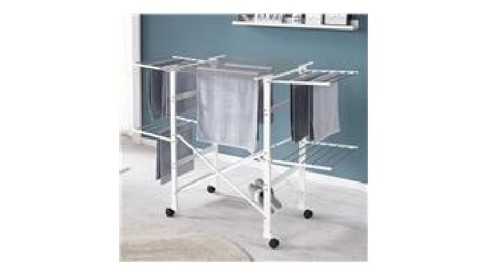 Our laundry hanger is a premium laundry hanger, practical and durable. Since the finished product is assembled, there is
