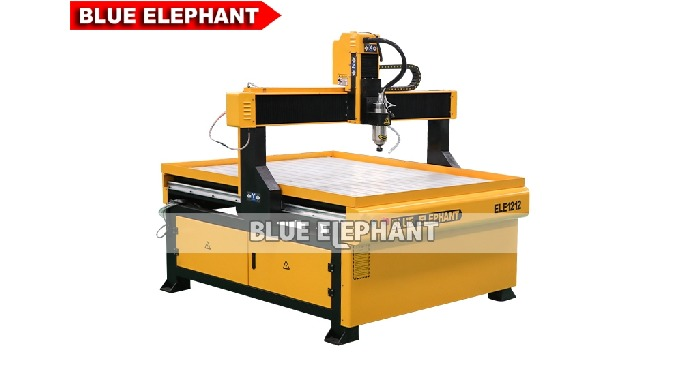 Features: 1. Integral cast iron frame,more durability. 2. Compare with another kinds of 4*4 CNC Router Machine, there ha